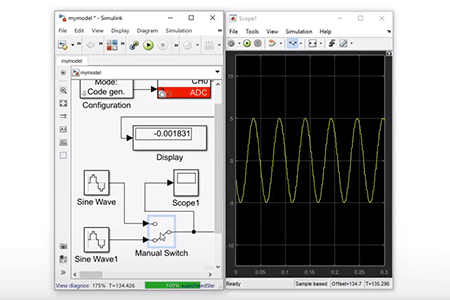 Simulink External Mode with ACG SDK