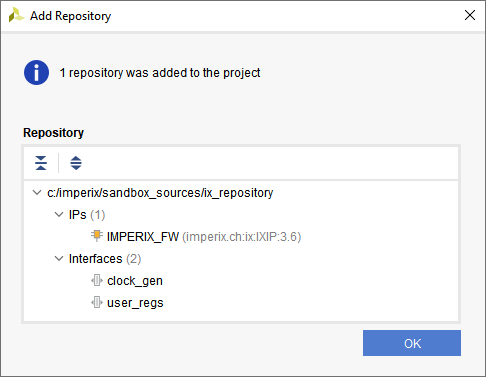 Add a Vivado repository