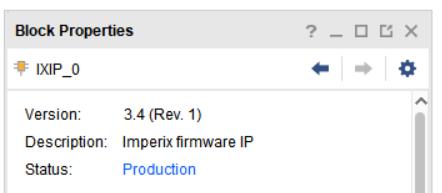 Block properties of the IP