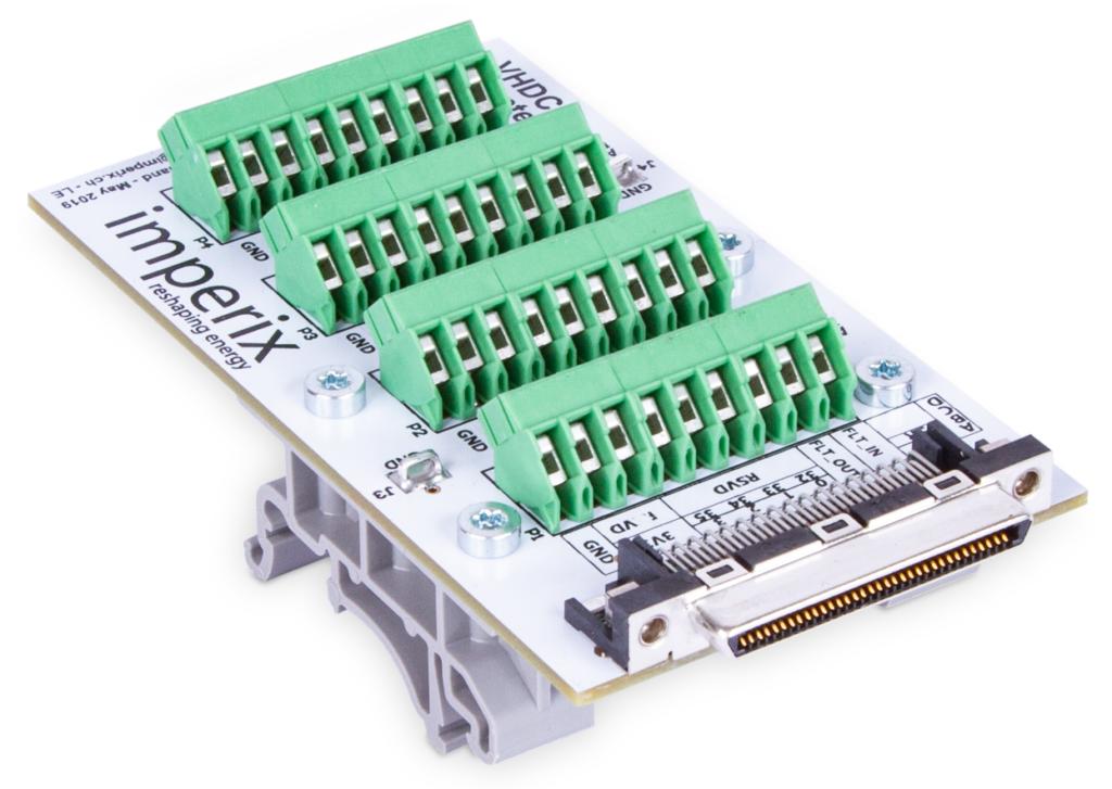 VHDCI breakout board