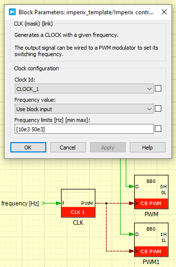 Variable frequency operation on PLECS
