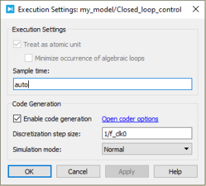 Enabling code generation