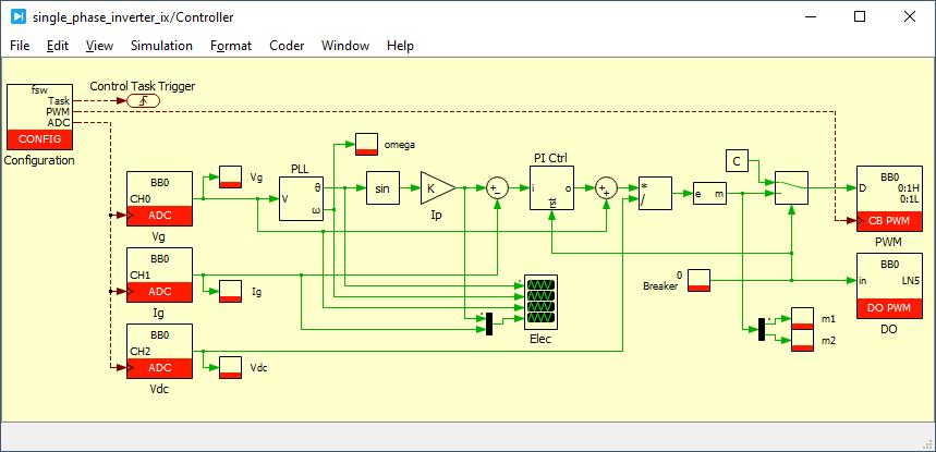 Single phase inverter control