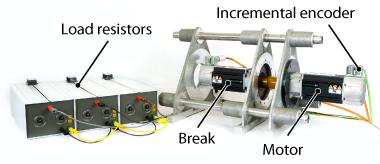 Motor bench and brake