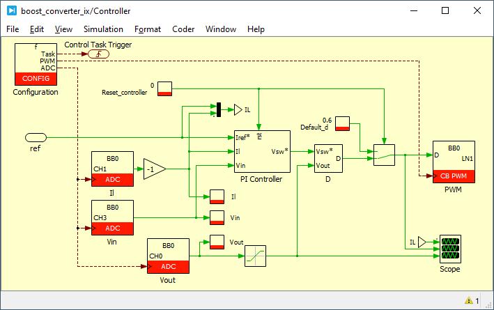 Boost converter control