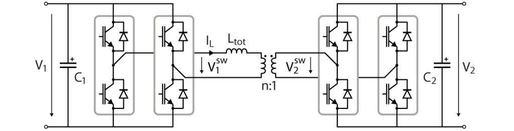 Dual Active Bridge converter topology