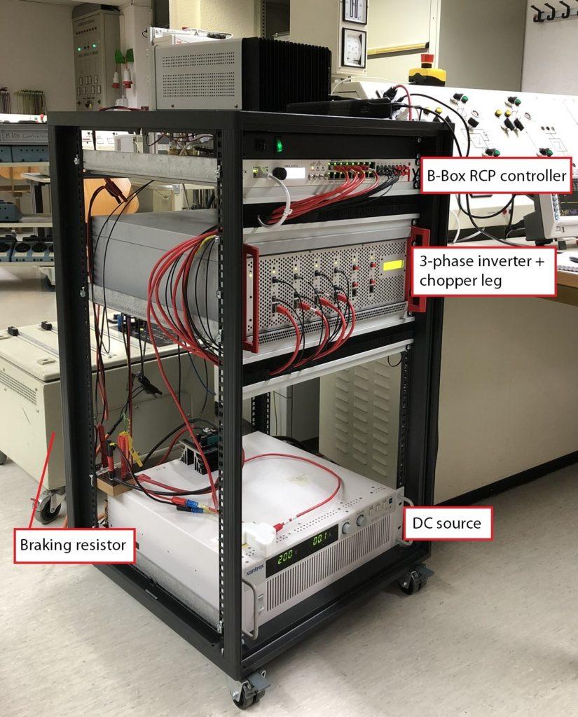 Motor inverter for direct torque control