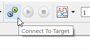 Connect to target button