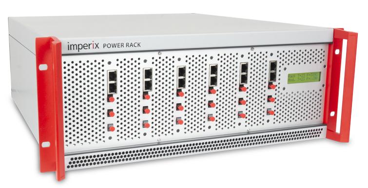 Closed converter rack with six half-bridge modules