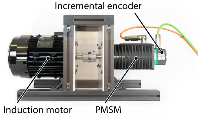 Induction machine motor setup