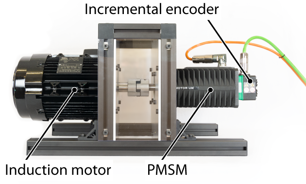 Induction motor test bench