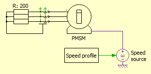 Plant model for sliding-mode observer simulation