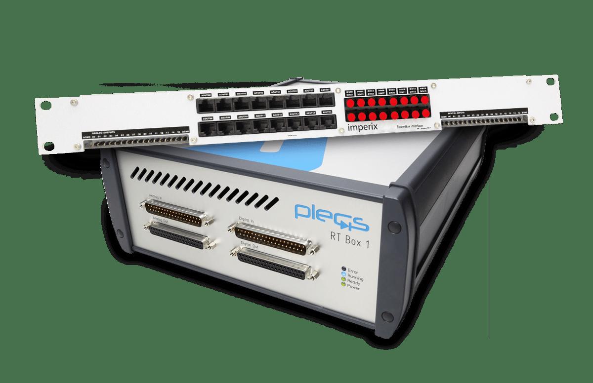HIL simulator interface for Plexim RT-Box 1.
