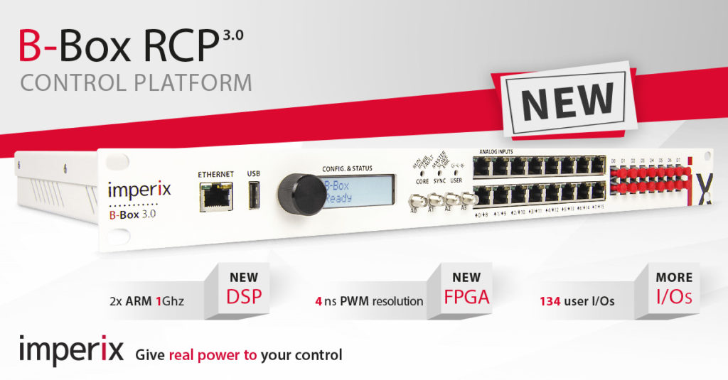 Key features of the B-Box RCP control platform for power electronic applications