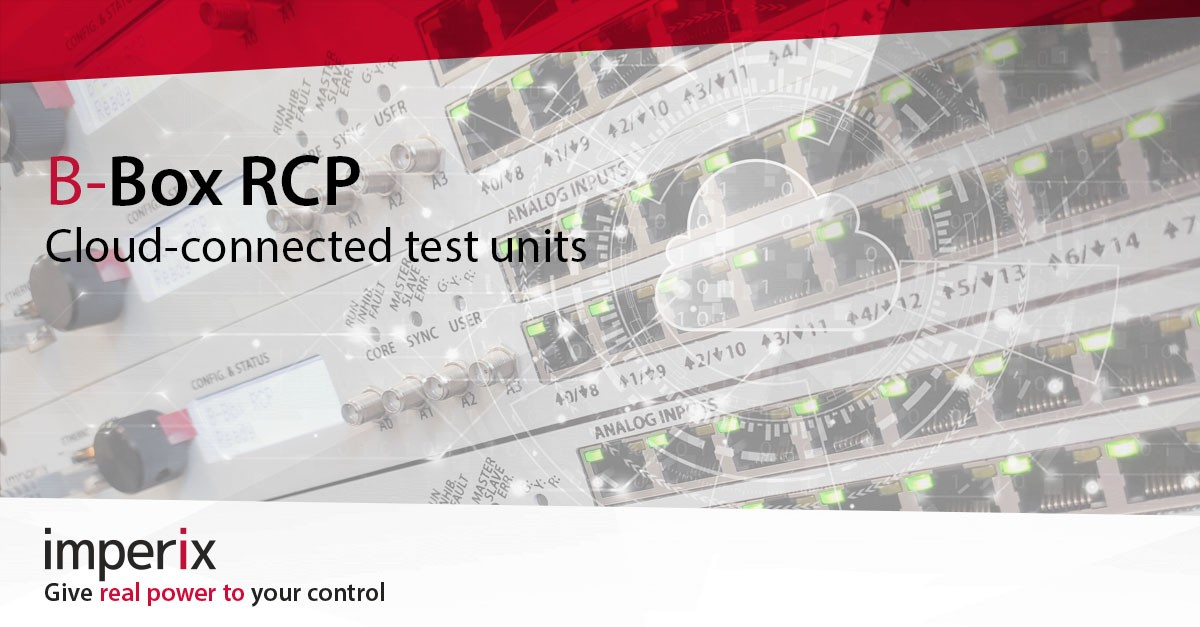 Cloud-based test bench with B-Box RCP