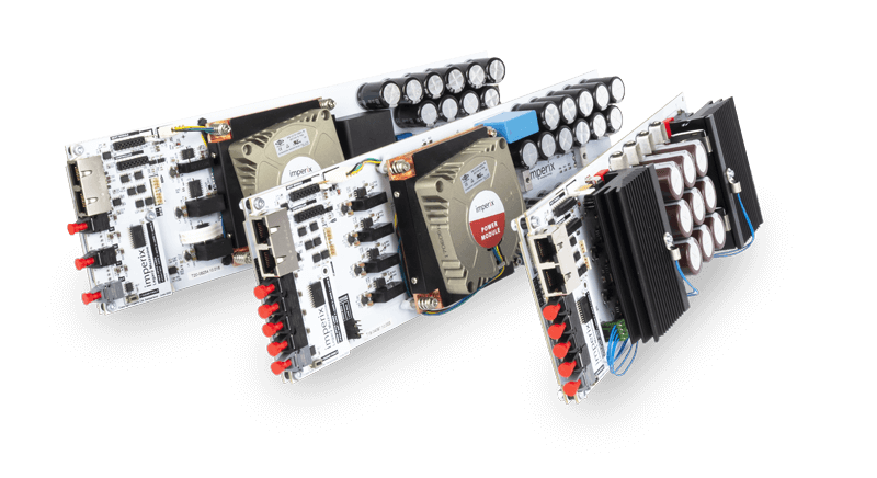 Power inverter modules for power electronic applications.