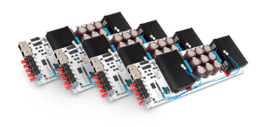 Several H-bridge submodules.
